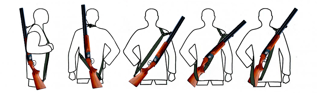 Трехточечный ремень зубр для ружья своими руками 9